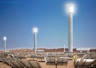 RAFAA Designs Next Generation Solar Tower for Bright Source Competition