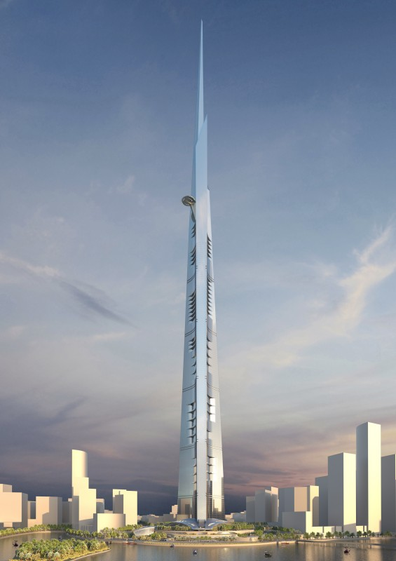 unsustainable development, Kingdom Tower, Saudi Arabia