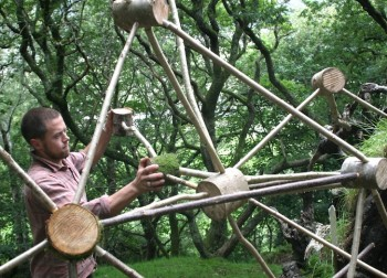 Wales, Woodland Design Lab, environmental art, sustainable design, green design, eco-art