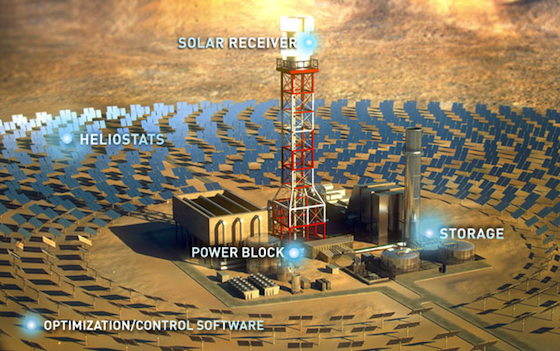 BrightSource Applies to Build Two More Solar Thermal Plants in California