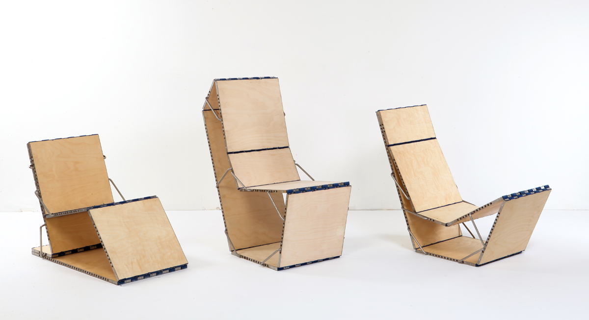 Modular chair design green prophet - Chairs design ...