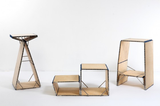 Modular Loop Chair Serves A Twelve Fold Function Green