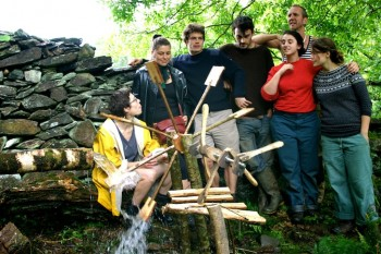green design, sustainable design, environmental art, wales, woodland design lab