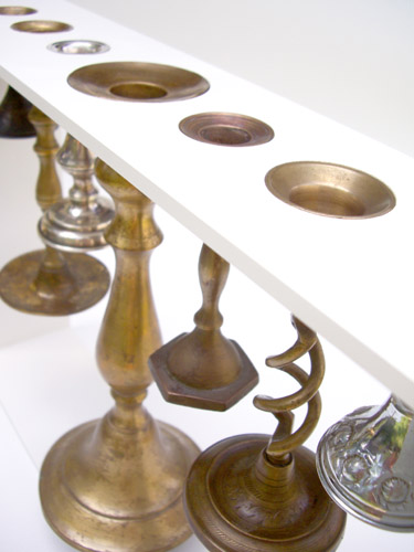 """reused candlestick menorah"""