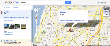 Google Maps To Bring Virtual Eco-Tourists to Israel