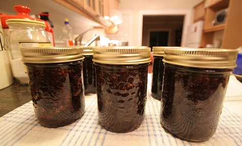 """homemade strawberry jam"""