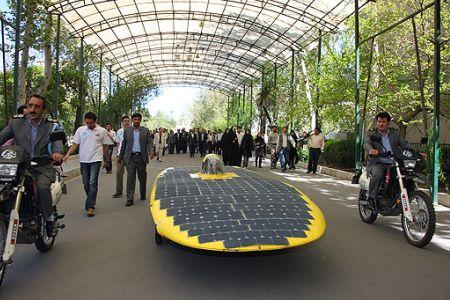 Iran's Solar Car Competes in Australia (But Japan Wins)