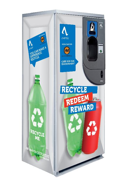 Gulf Recycling Machines Convert Waste into Advertising Opportunity
