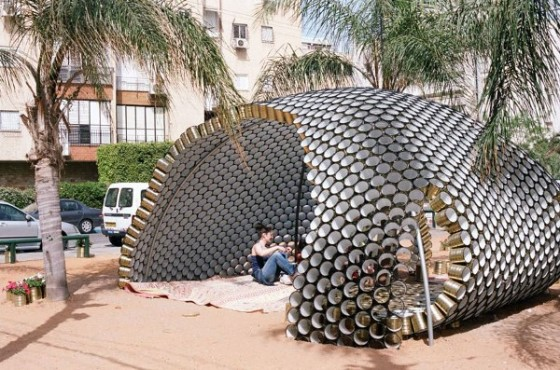 A Shining Arc In Israel Is Made Entirely Out Of Reused