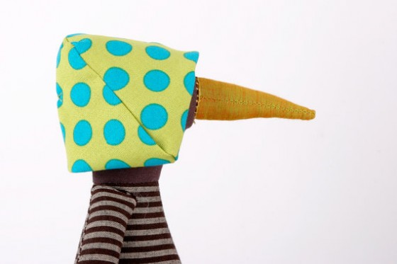 """handmade fabric toy"""