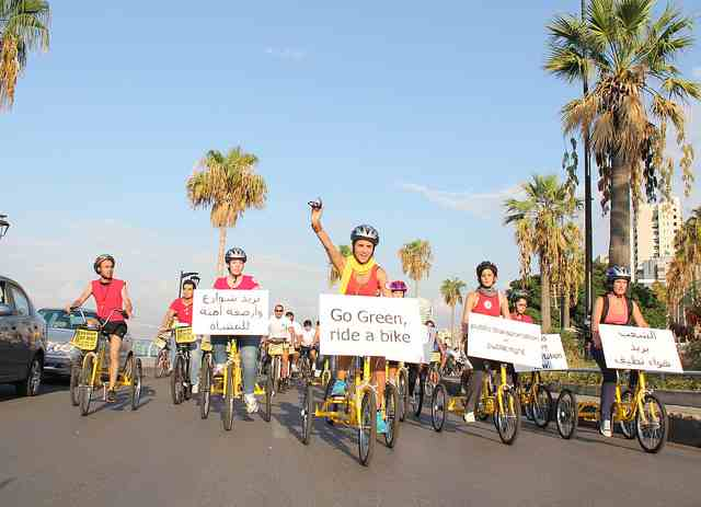 Middle East Joins Worldwide Campaign For Greener Transport (Photos)