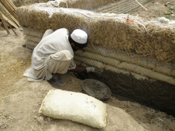 pakistan clay reinforced house
