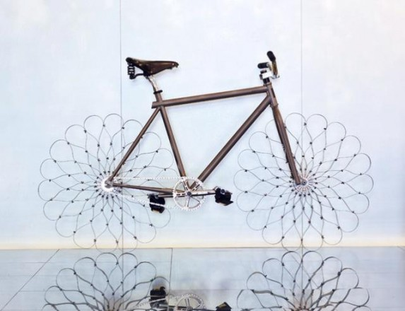 Ron Arad's Bike Wheels Will Never Go Flat