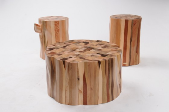 """upcycled wood furniture"""