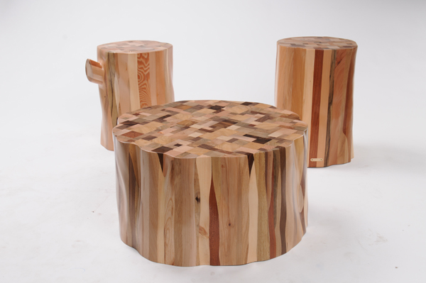 Upcycled Wood Furniture Green