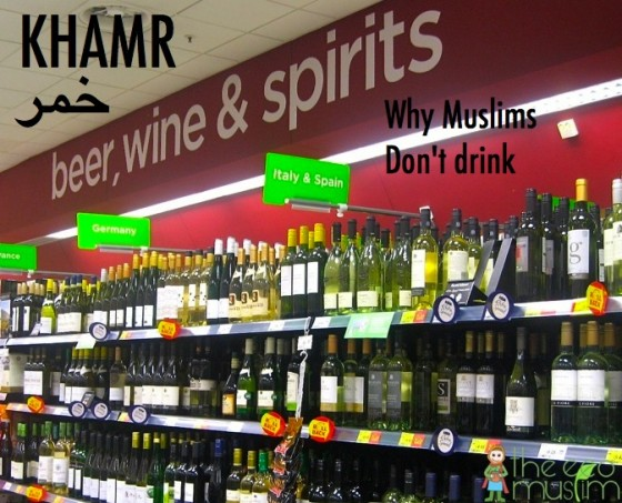 alcohol muslims drink haram halal wine