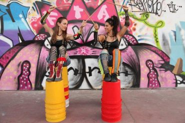 Eco-Friendly RhythManiAcs Use Upcycled Drums as Instruments