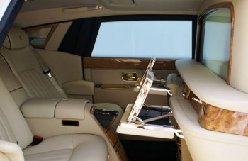 Rolls Royce ultra luxurious EWB Phantom limousine