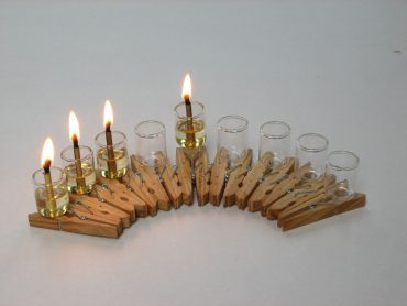 Miraculously Sustainable and Upcycled Hannukah Menorah Designs