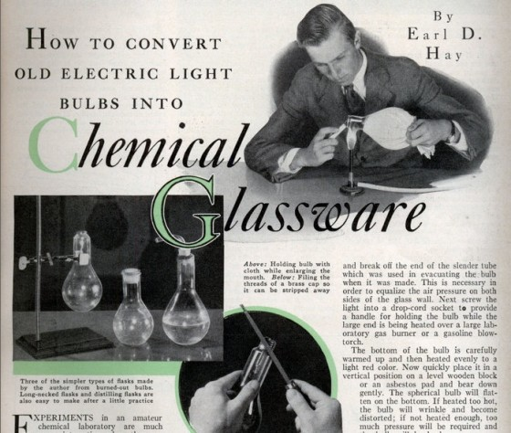 """light bulbs chemical glassware"""
