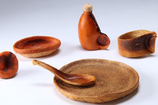 """orange peel tableware"""