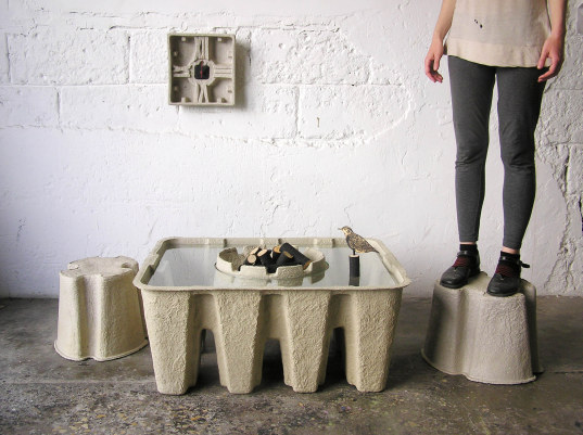 """recycled paper furniture"""