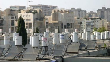 Solar Water Heaters Give Free Hot Water From Cyprus Rooftops