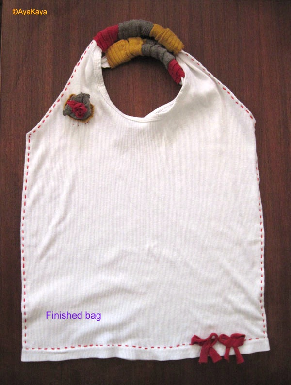 Aya Kaya S Online Upcycling Tutorial For Turning T Shirts