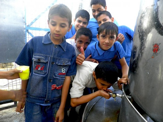 water issues, FoEME, gaza, palestine, palestinian authority, joint water commission, interim agreement, israel, french parliament, water wars, desalination, waste water treatment