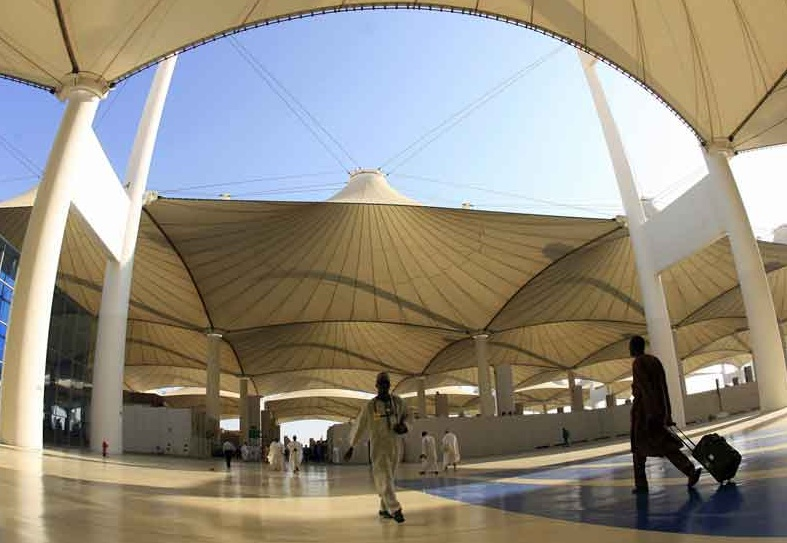 Hajj Terminal is Aviation's Gorgeous Green Granny