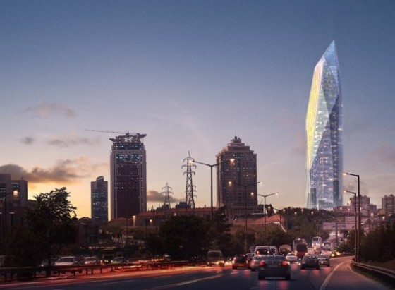 renaissance tower, LEED turkey, turkish