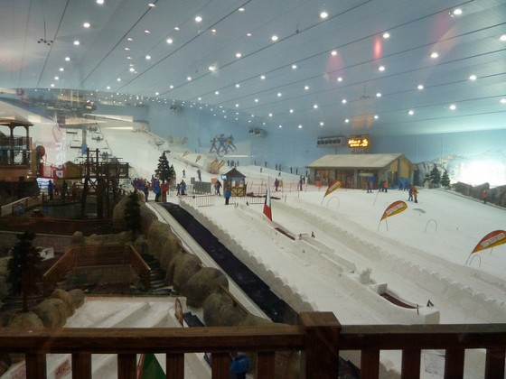 Indoor ski slopes from dubai goes carbon neutral in