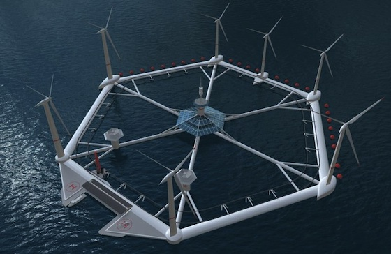 Malta To Get State Of The Art Floating Wind Farm From