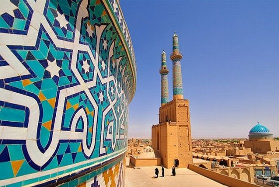 green energy, clean energy, renewable energy, solar, Iran, sanctions, Middle East, subsidies, Jameh Mosque, Yazd