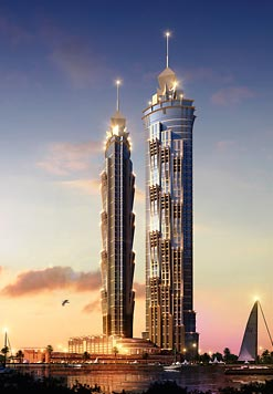 Dubai Breaks its Own Record for the World's Tallest Hotel