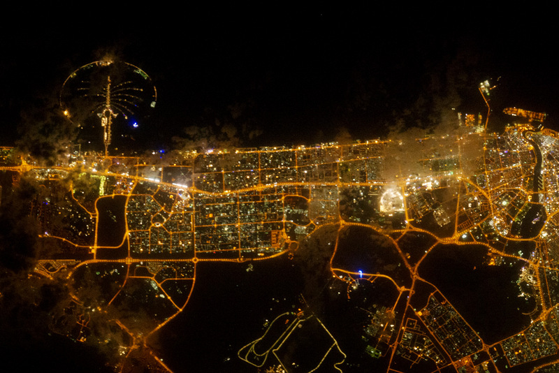 Astronauts to Watch Earth Hour From Above