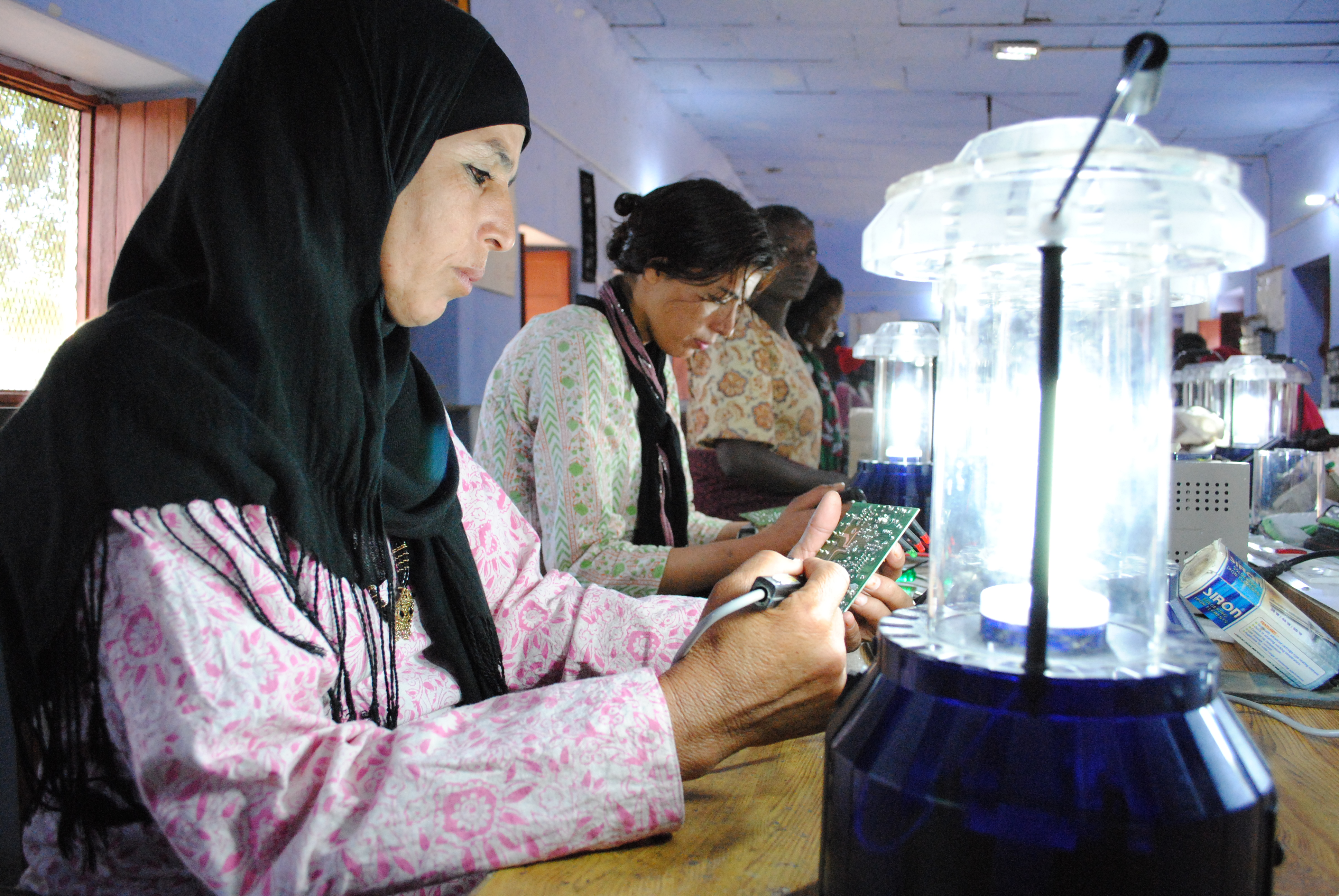 Barefoot College teaches rural Bedouin women in Jordan how to be electricians. The world needs skills, not just lawyers and doctors. Learn why more parents help their kids find technical careers.