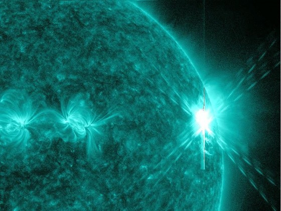 Solar Flare and Geomagnetic Storm Spares Earthlings | Green