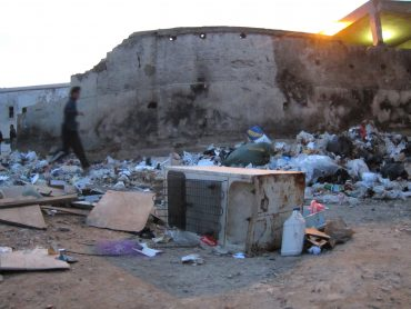 Another Day in Tunisia: Chasing Balls Through Trash (PHOTOS)