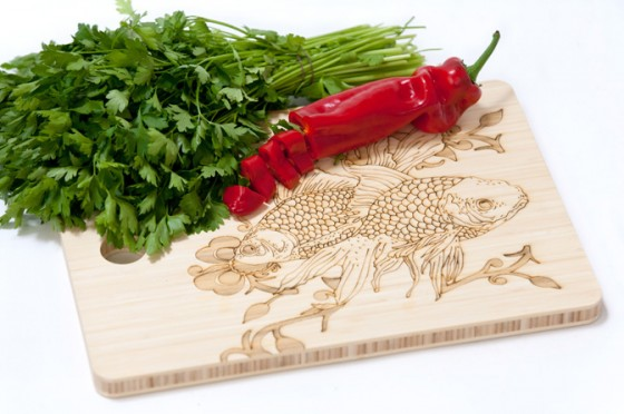 """bamboo cutting board"""
