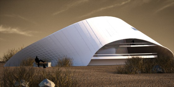 green building, biomimicry, Art University of Isfahan, Iran, desert architecture, eco-architecture,