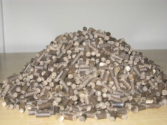 applied clean tech recycled paper poo pellets