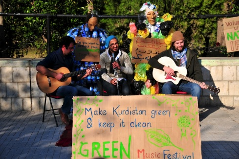 green music kurds festival