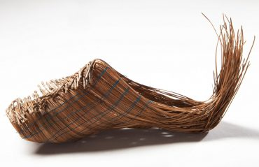 Hadas Ilani Makes Elven Shoes out of Pine Needles