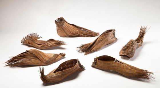 pine needle shoes, Bezalel Design Academy, green design, Milan, eco-design, sustainable design