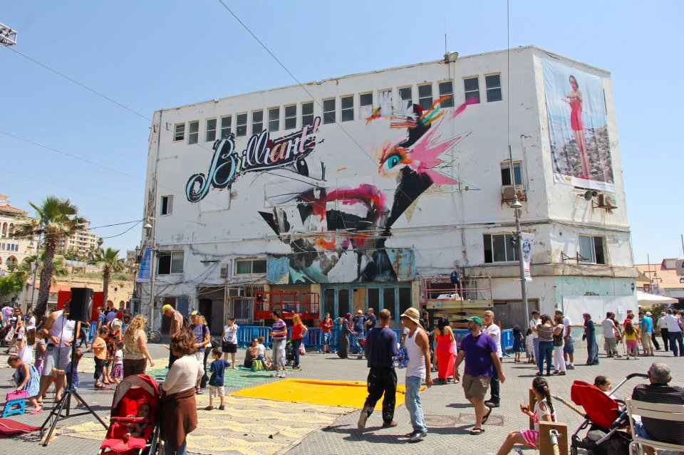 urban art, shipping containers, recycled materials, Castro, O*GE