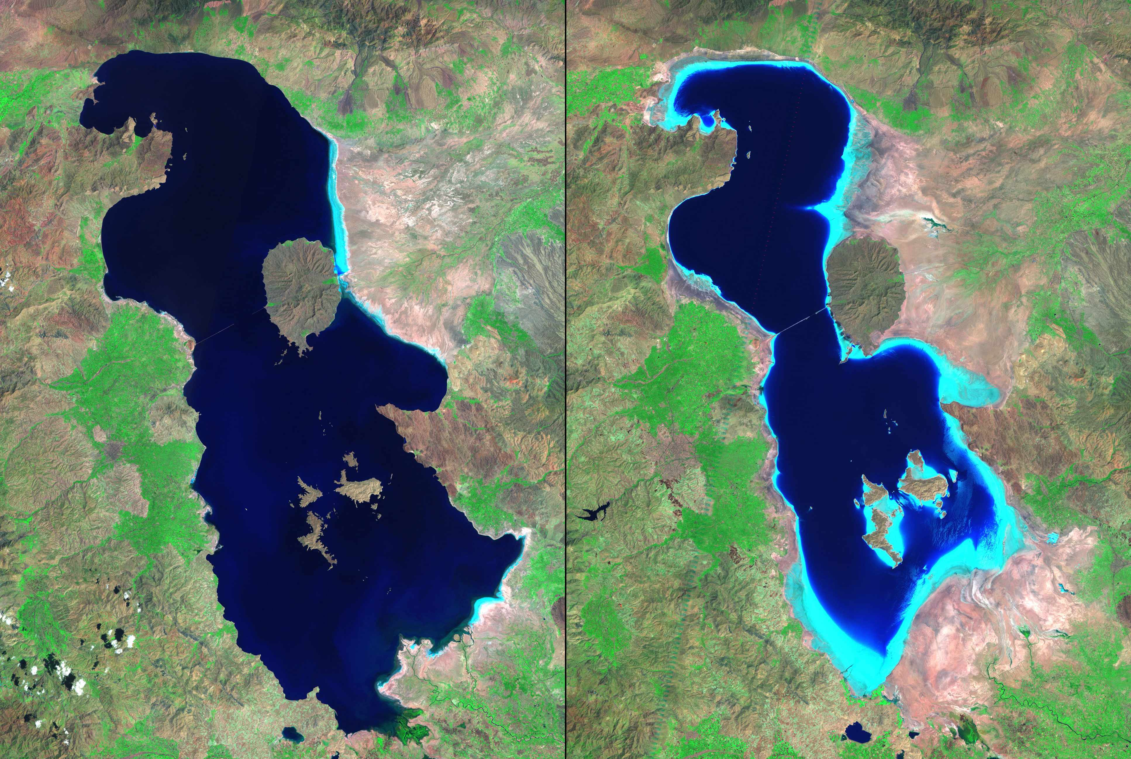 MENA Is Changing Drastically & NASA Has The Pictures To Prove It