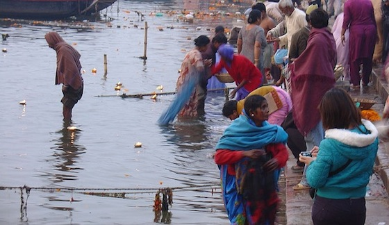 polluted ganges israel india
