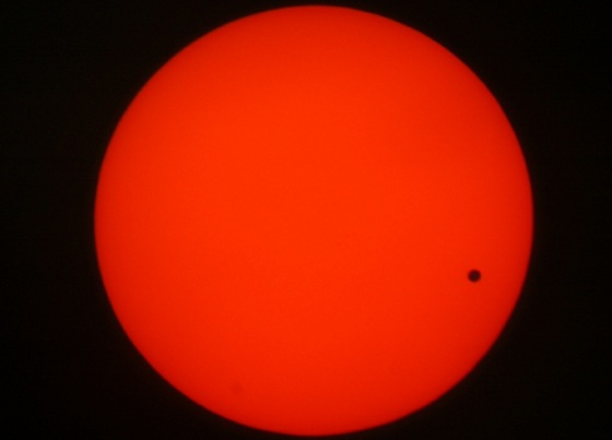 Venus to Cross Mideast Sunrise on June 6, 2012