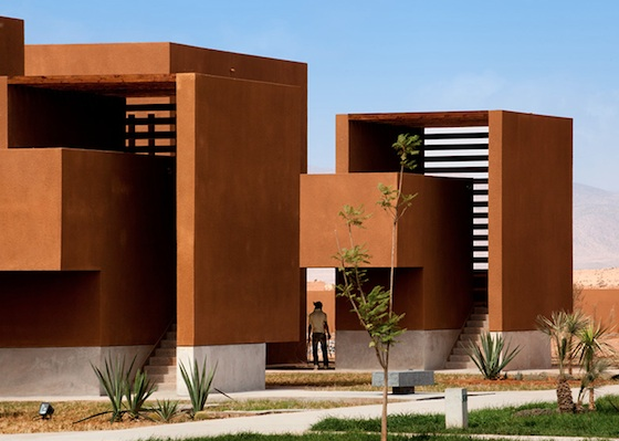 Morocco's Guelmim Technology School is Red Like the Sahara